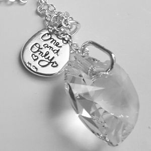 Belk silverworks Swarovski necklace